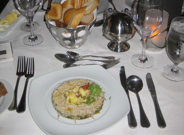 Abendessen im Restaurant Grand Cuvée