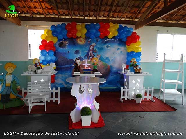 Decoração festa O Pequeno Príncipe - Mesa decorada provençal