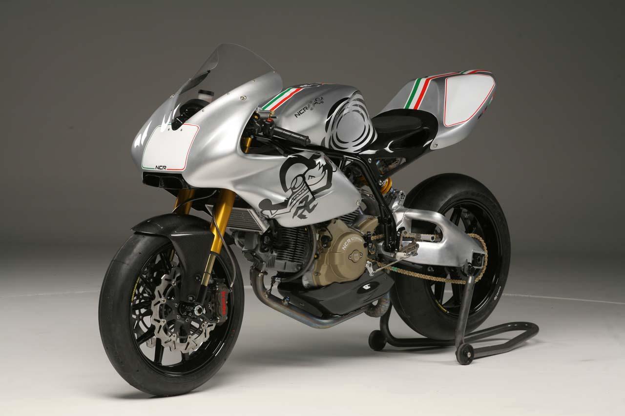 OddBike: NCR Millona - The Ultimate Ducati Pantah