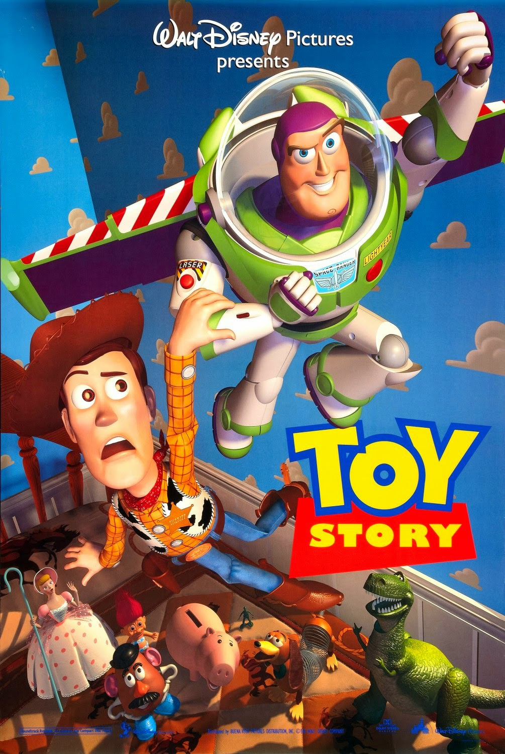 Toy Story 1 (1995) ταινιες online seires xrysoi greek subs