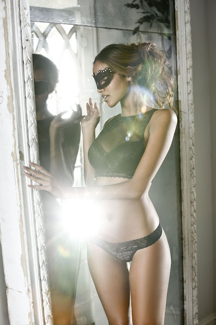 Model Melissa van Geit in the LASCANA lingerie campaign, photographed by CHRISTIAN MAI in Cape Town