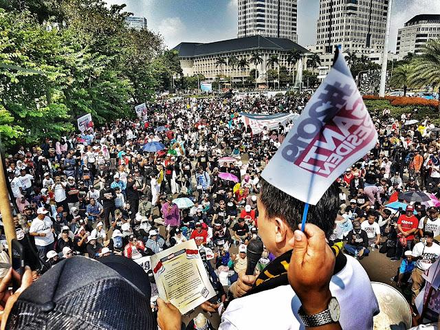 Eks Tim Mawar Sebut Istana Panik Hadapi #2019GantiPresiden