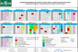 KalDik TP 2018/2019 untuk Madrasah