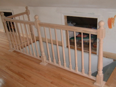 Loft Stair Banister Craftsman Style Newel Post Shopping   Craftsman Style Newel Post   Shaker   Construction   Colonial Elegance   Antique   1930 Style