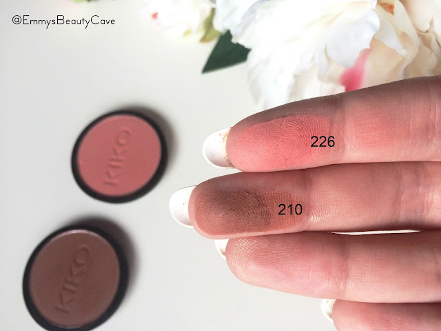 KIKO Infinity Eyeshadows 226 210