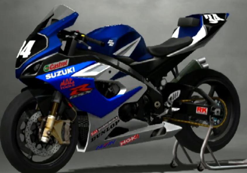 Suzuki GSX R 1000 Racing Modify 2005
