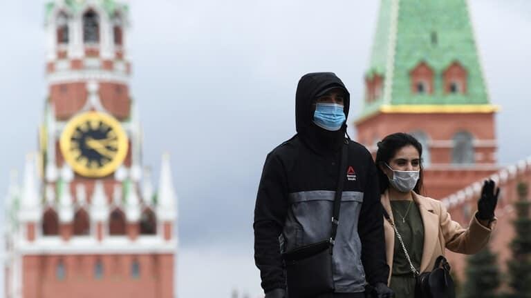 انخفاض-حصيلة-الوفيات-اليومية-بفيروس-كورونا-في-موسكو
