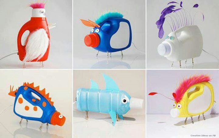 Plastic Bottle Crafts Craft Ideas And Art Projects