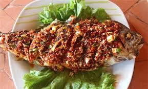 cá rô phi nướng