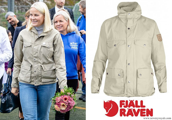 Crown Princess Mette-Marit wore Fjallraven Greenland Jacket