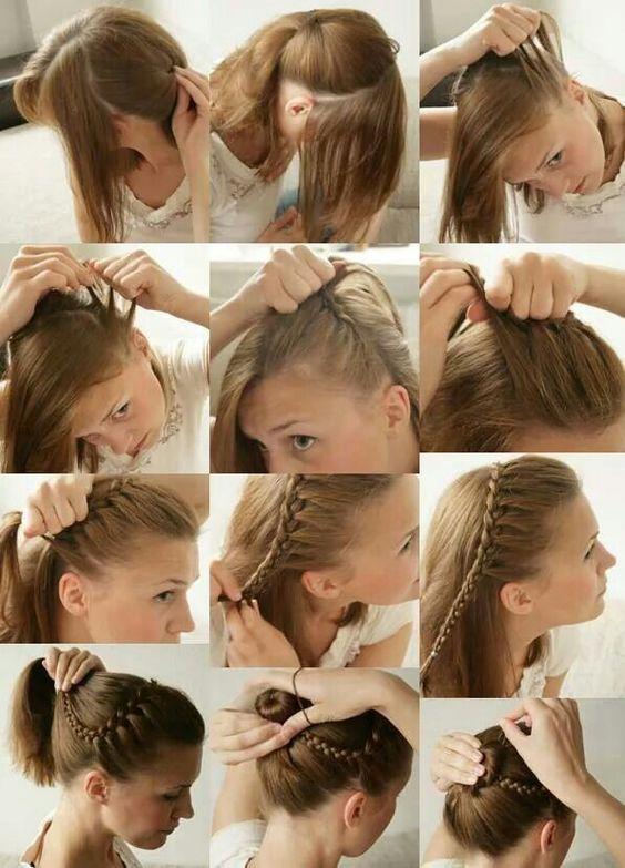 Cara Membuat Model Rambut Pramugari Indonesia Hair Tutorial