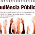Audiência Pública sobre metas fiscais acontecerá nesta quarta