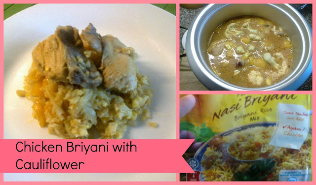 Briyani Chicken with Cauliflower Rice