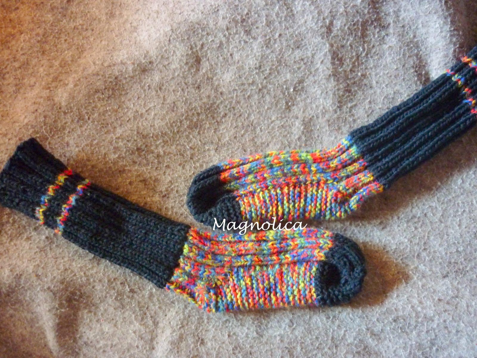 Magnolica: Medias o calcetas...nunca digas nunca