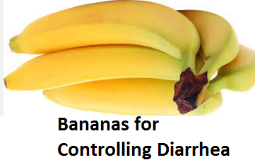 Health Benefits of Banana fruit - Bananas for Controlling Diarrhea