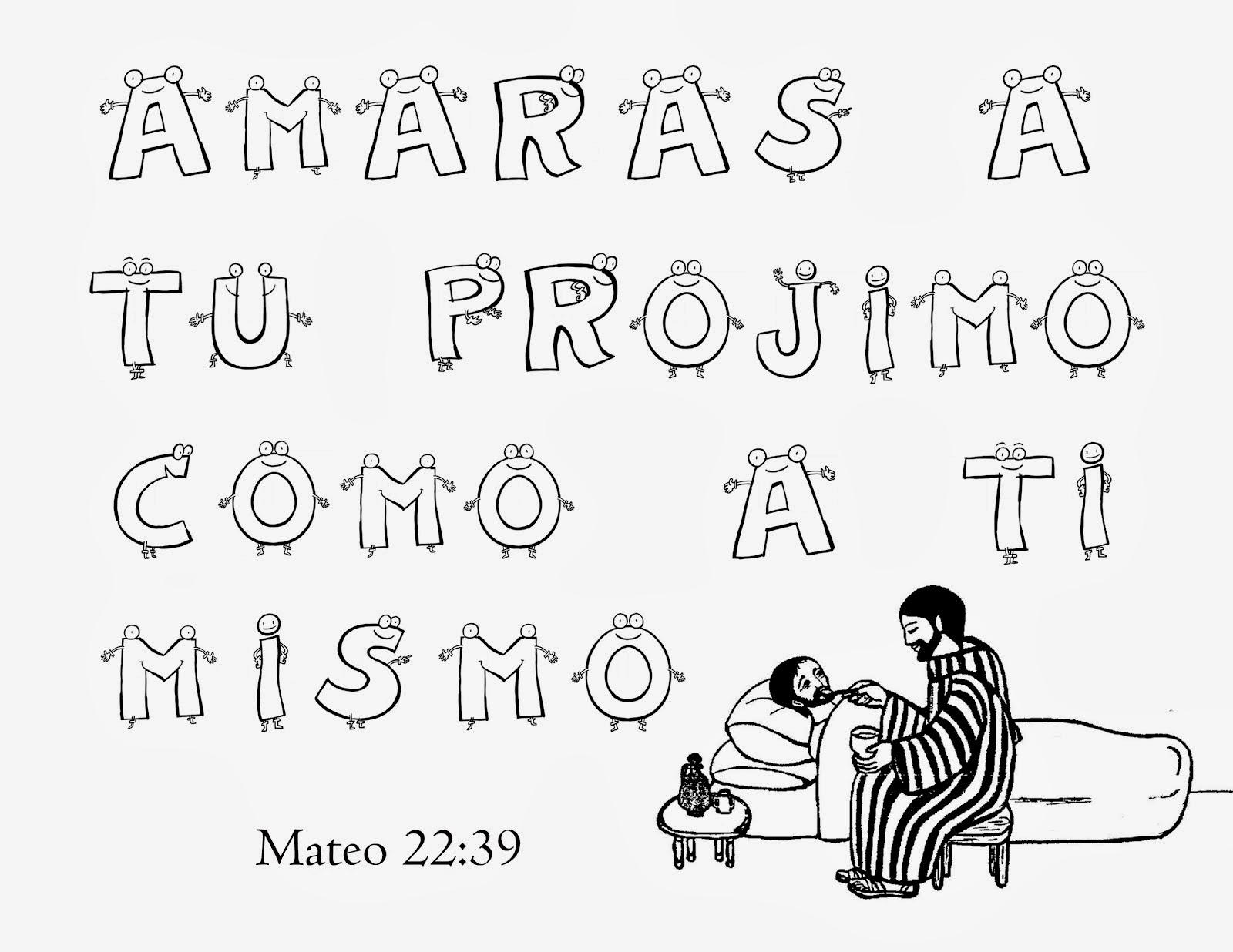 Dibujos Cristianos Para Colorear Texto Biblico Para Colorear