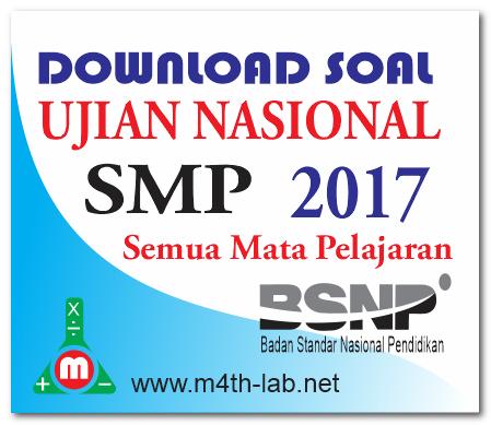 Soal Un Smp 2017