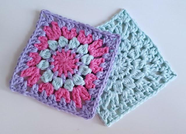 hello sunshine crochet squares