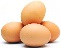 Foto de huevos de gallina, derivados de la gallina