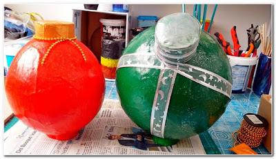 Tutorial-Esfera-navidad-papel-mache