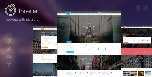 travel online booking template