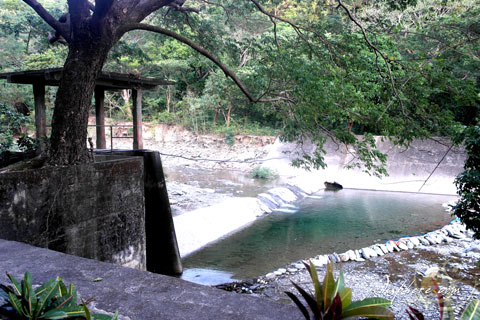 Photo of the old dam in Paluan, Occidental Mindoro
