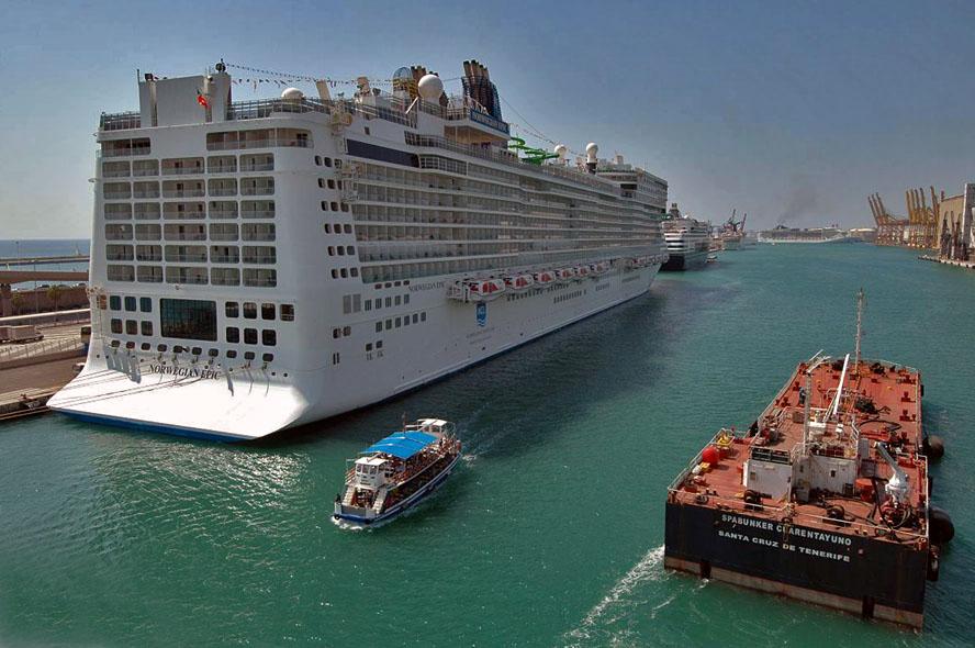 barcos en el puerto de barcelona blogspot.com: MSC ...