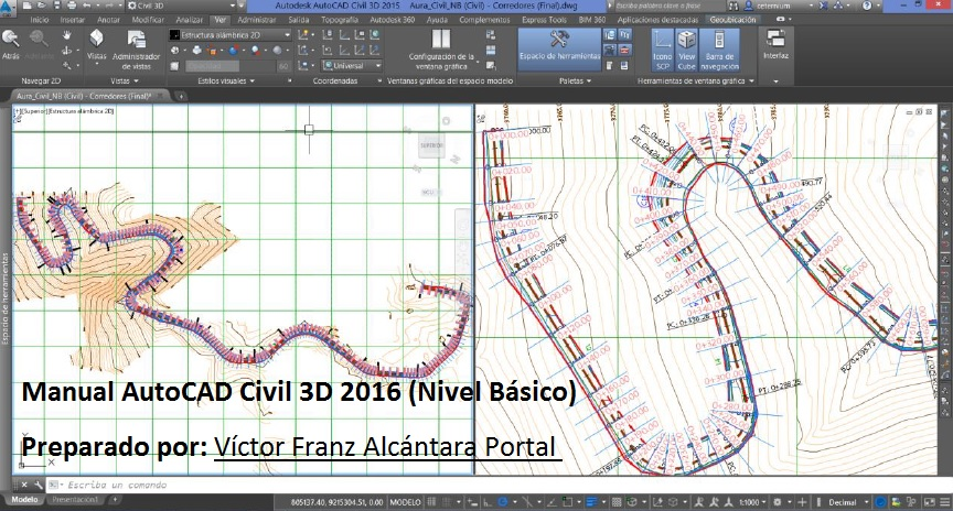 manual autocad civil 3d 2016 nivel b sico rh cuevadelcivil com manual de autocad 2016 pdf manual de autocad en espanol pdf gratis