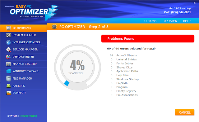 Easy PC Optimizer Registration Key
