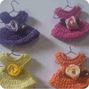Vestido Minuatura a Crochet