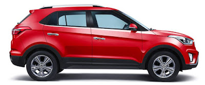 Hyundai Creta 1st Anniversary Edition side view Hd Images