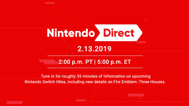 Nintendo Direct February 13 2019 preview
