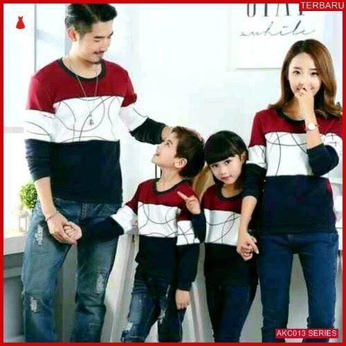 AKC013S46 Sweater Couple Round Anak 013S46 Keluarga Kombinasi BMGShop