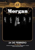 Concierto de Morgan en Escenario Eslava