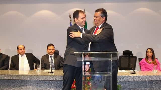 Alberto Bastos é empossado por Flávio Dino