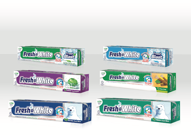 Ubat Gigi Fresh & White