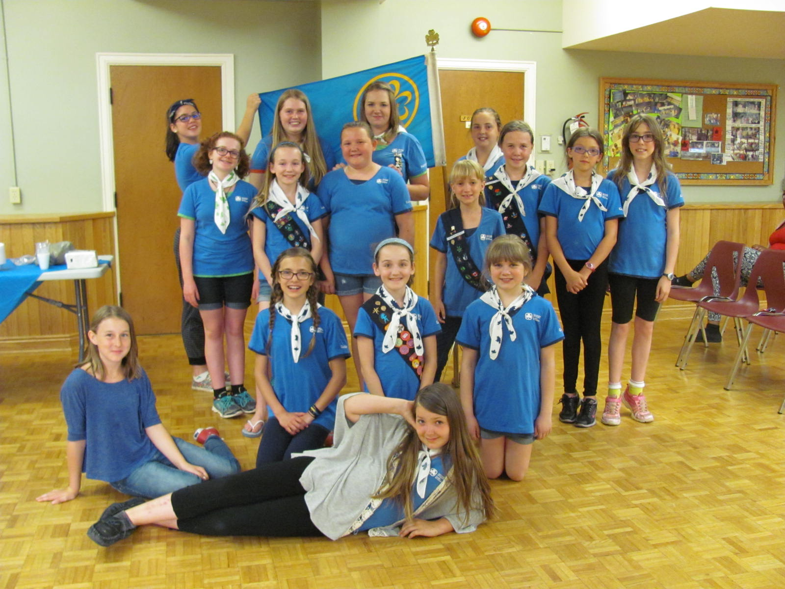 The bLog Book of the Caledonia Girl Guides, Pathfinders