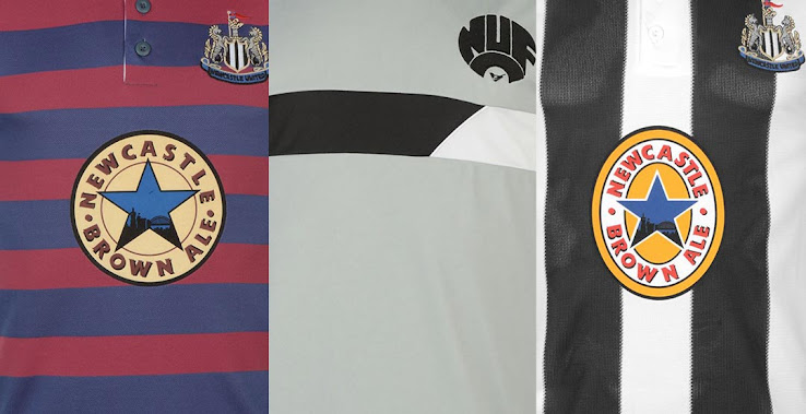 newest 4fd64 11ff9 Awesome - 8 Newcastle United Retro Kits Released - Footy ...