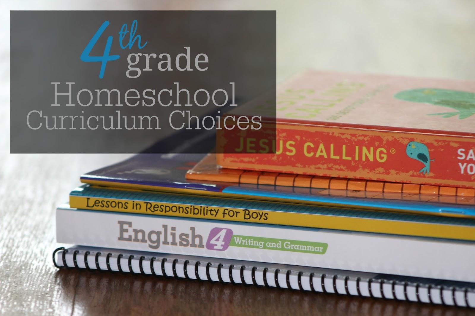 The Unlikely Homeschool 4th Grade Homeschool Curriculum Choices