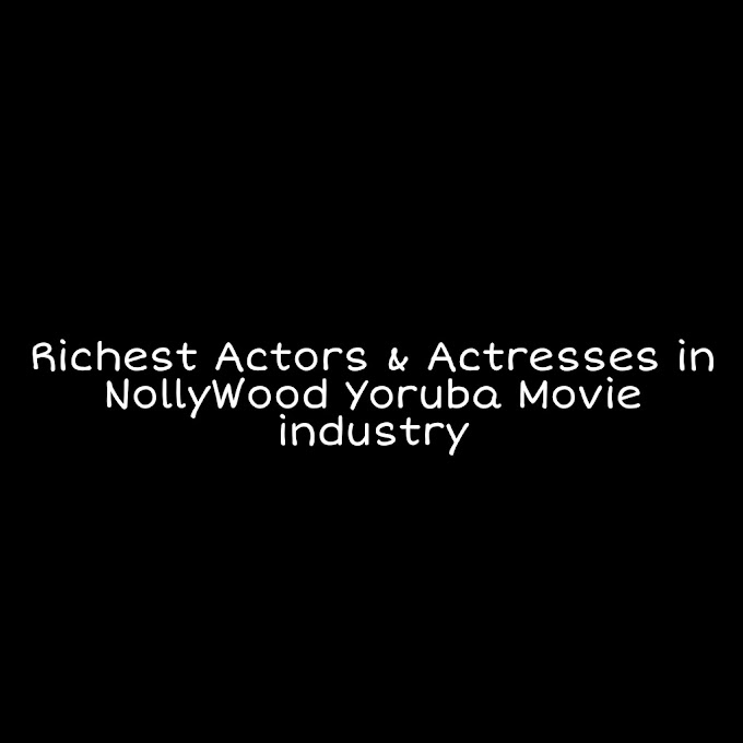 Top 10 Highest Paid Yoruba Movie Actors and Actresses