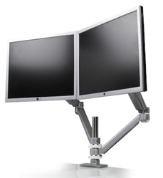 Allure Dual Screen Monitor Arm