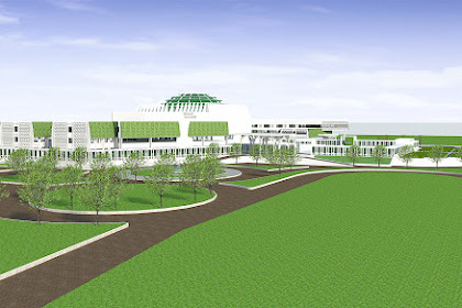 Gambar Kerja Islamic Center Lengkap Dengan Detail Dwg