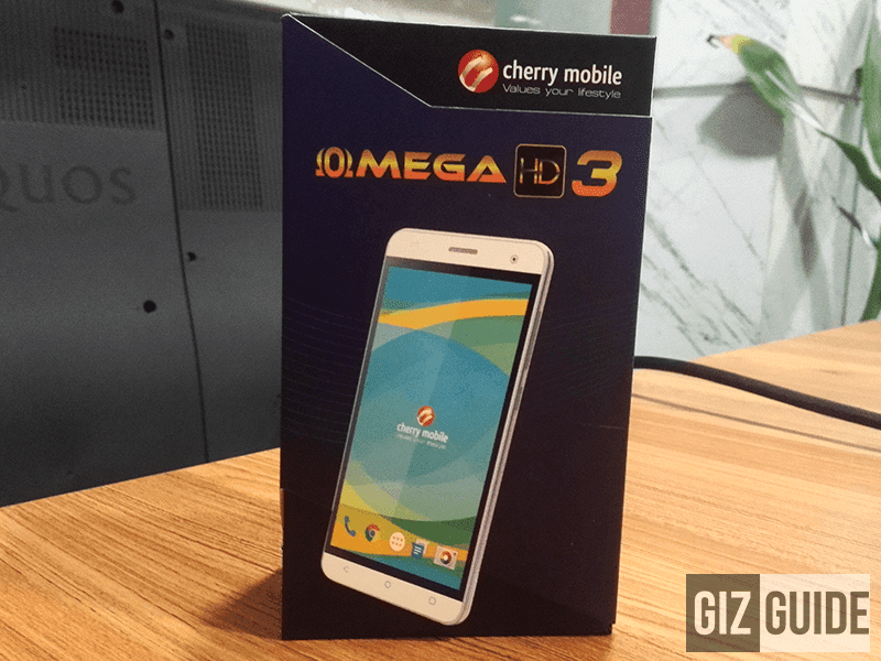 Cherry Mobile Omega HD3 Now Official! Budget 5 Inch HD Smartphone With 1 GB RAM And 8 MP Cam For 2999 Pesos!