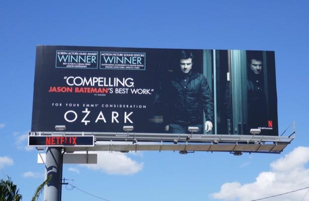 Ozark season 2 Emmy FYC billboard