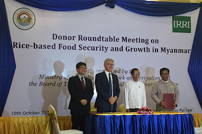 Myanmar signs Seed Sharing Protocol Agreement