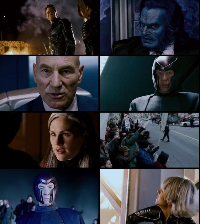 X-Men 3 The Last Stand 2006 Dual Audio Hindi 480p BRRip