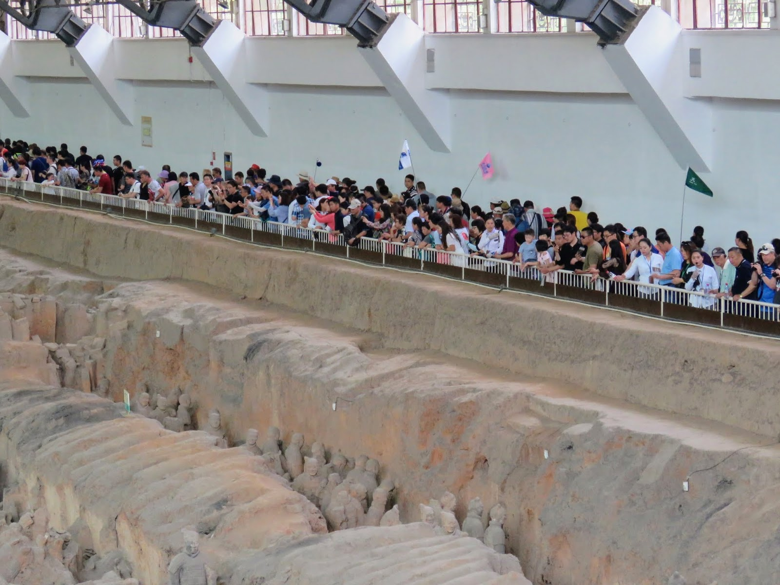 Experience Chinese Quot Guerrilla Tourism Quot When Visiting The Ancient Terracotta Warriors Outside Xi