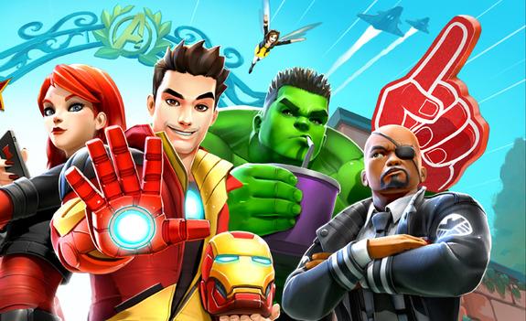 pilihan editor game superhero android terbaru awal tahun 2017