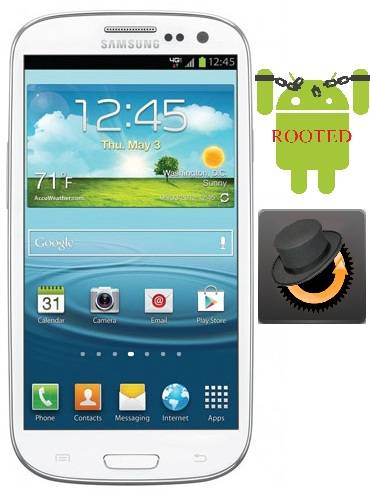 Root Galaxy S3 Verizon i535 and Install Clockworkmod