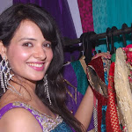 Actress Saloni Launches Desire Exhibition 2011 Event Stills
